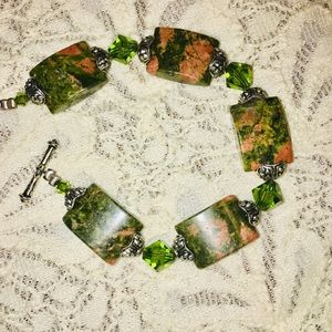 Multicolored Jasper Bracelet